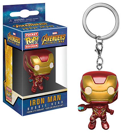 Porte-clés Iron Man FunkoPop! en vinyle