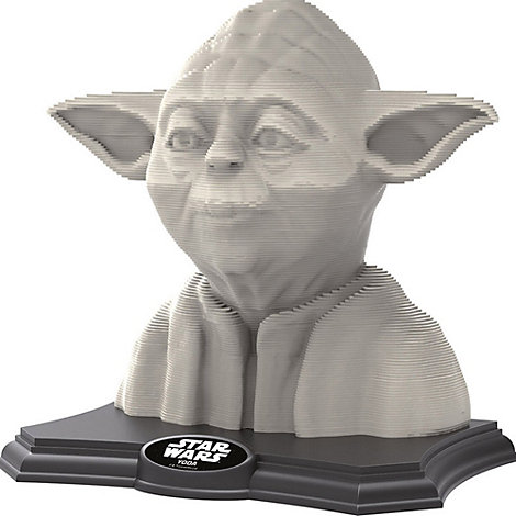 Puzzle 3D Yoda