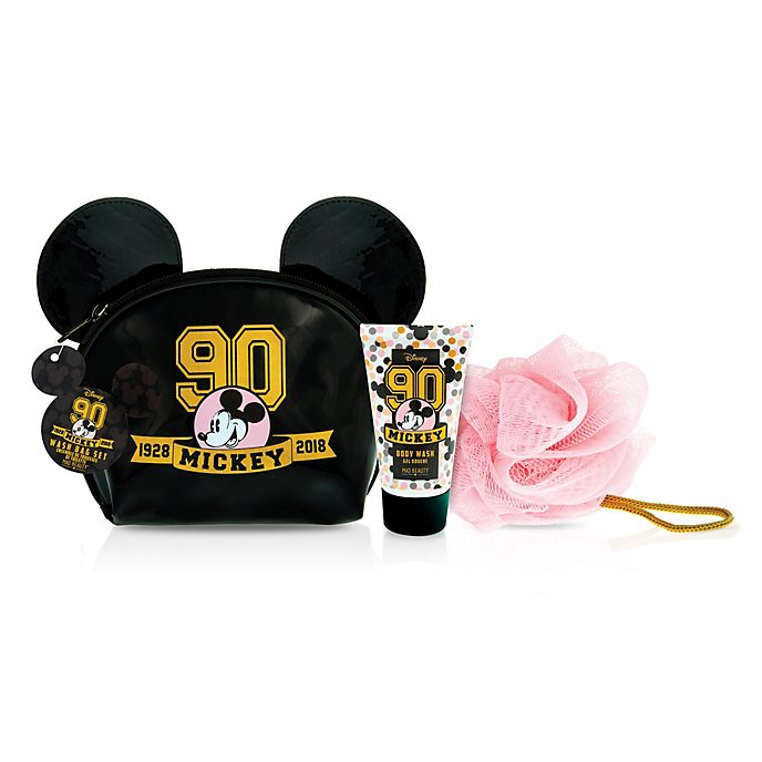 Mad Beauty Mickey Mouse 90th Anniversary Wash Bag Set
