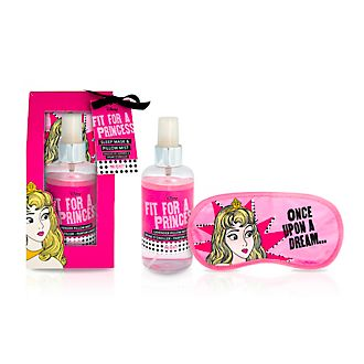 Set de spray de almohada y antifaz para dormir Bella Durmiente de Mad Beauty