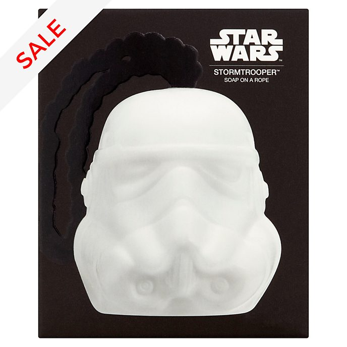 Dr Fresh 3D Stormtrooper Soap On A Rope, Star Wars