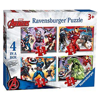 Ravensburger Lot de 4puzzles Avengers
