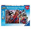 Ravensburger - Spider-Man - Set mit 3 Puzzles (je 49 Teile)
