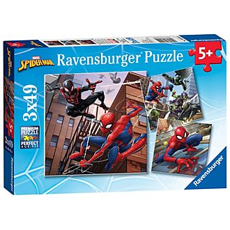 Ravensburger Spider-Man 49 Piece Puzzles, Set of 3