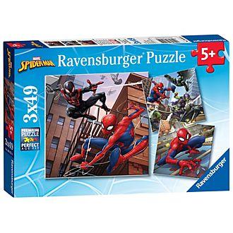 Ravensburger Spider-Man, 3 puzzle 49 pezzi