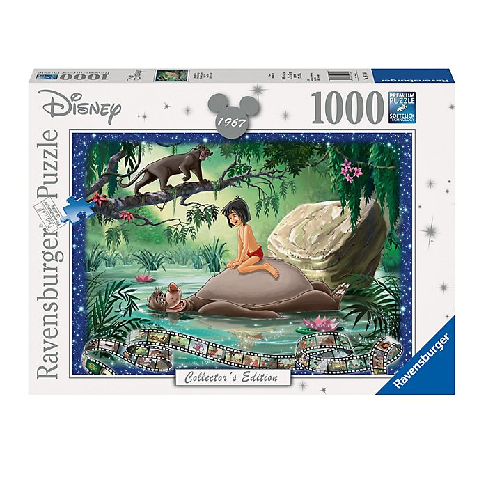 Ravensburger Puzzle 1 000 pièces Le Livre de la Jungle, Disney Collector's Edition