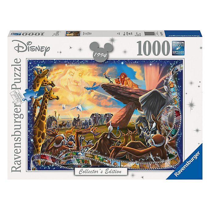 Ravensburger Puzzle 1000pièces Le Roi Lion, Disney Collector's Edition