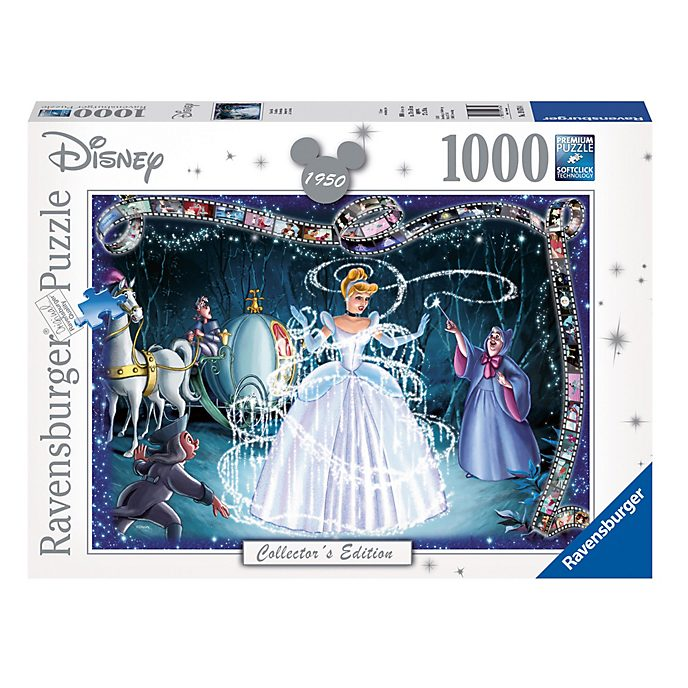 Ravensburger Puzzle 1000pièces Cendrillon, Disney Collector's Edition