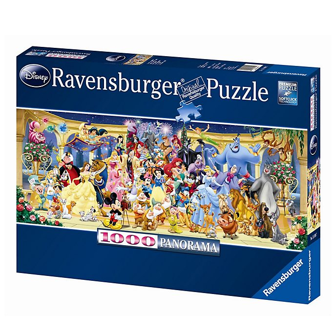 Ravensburger - Disney Collectors Edition - Panorama-Puzzle mit 1.000Teilen