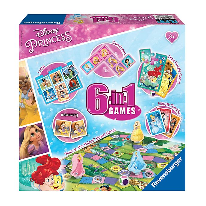 Ravensburger Disney Princess 6 in 1 Games Box