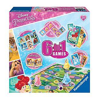 Ravensburger caja juegos princesas Disney 6 en 1