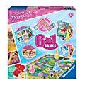 Ravensburger Boîte de jeux 6en 1Disney Princesses