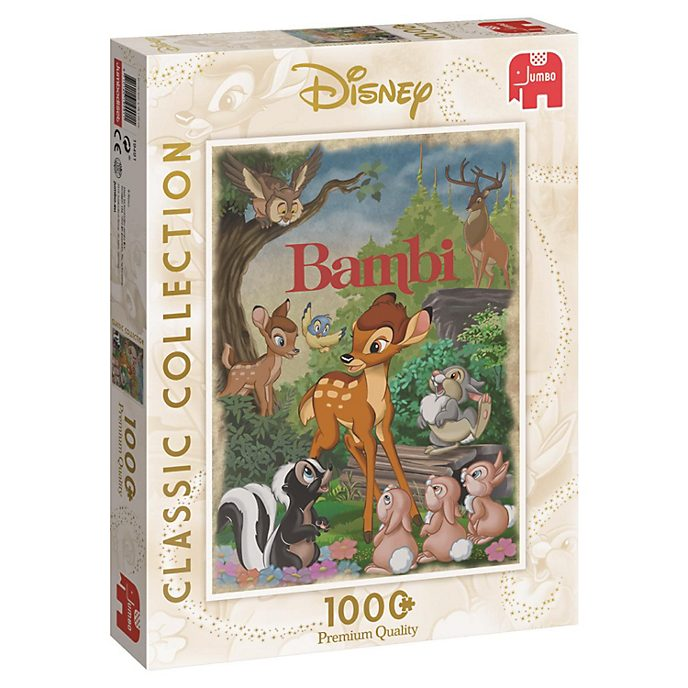 Puzle 1.000piezas Bambi, colección Disney Classic