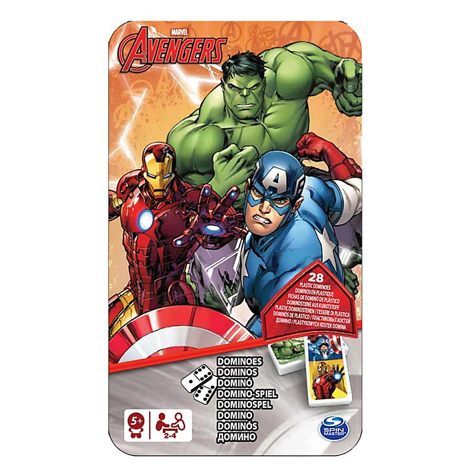Avengers Dominoes in a Tin