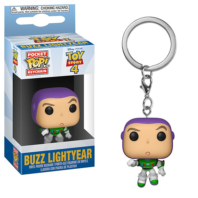 Funko Buzz Lightyear Pop! Vinyl Keyring, Toy Story 4