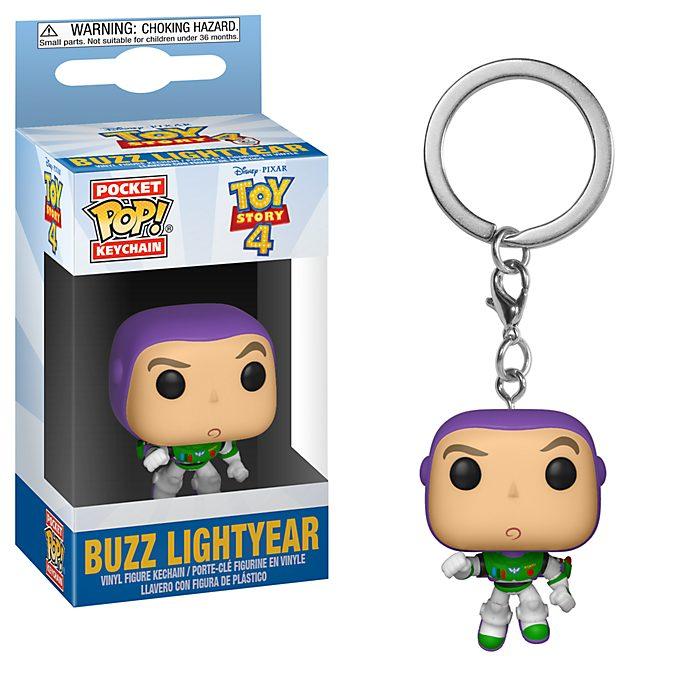 Portachiavi in vinile Buzz Lightyear Toy Story 4 serie Pop! di Funko