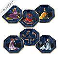 Disney Store Assiettes de fête Disney Designer Collection, lot de 6