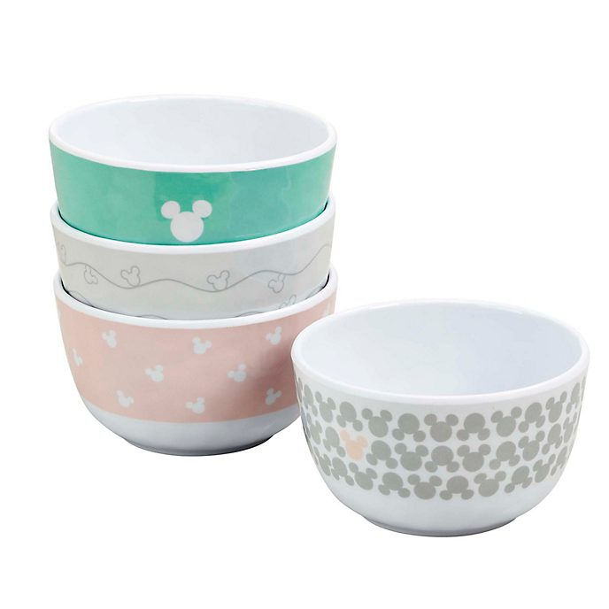Bowls pastel Mickey Mouse, Funko (set de 4)