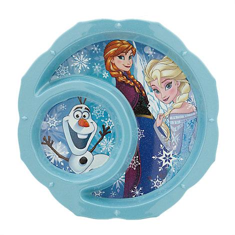 Frost tallerken med glimmer