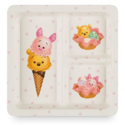 Winnie the Pooh and Friends Tsum Tsum Square Plate