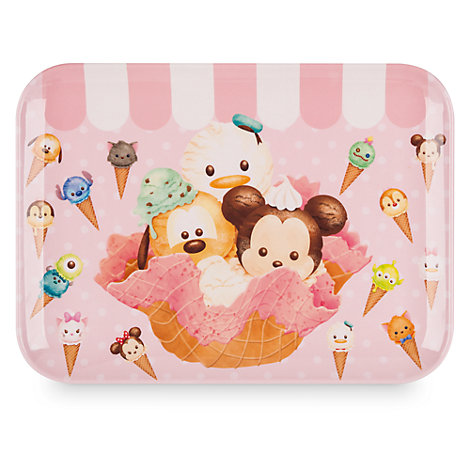 Mickey Mouse and Friends Tsum Tsum Serving Tray