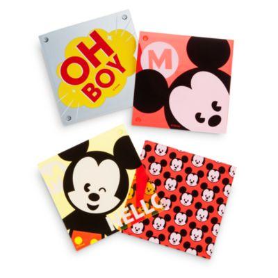 Posavasos Mickey Mouse MXYZ, set de 4