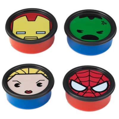 Marvel MXYZ Storage Containers, Set of 4
