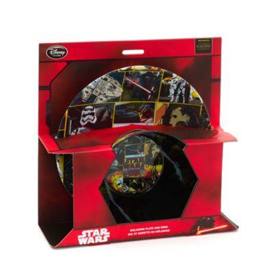 Star Wars - Set mit Teller und Schale