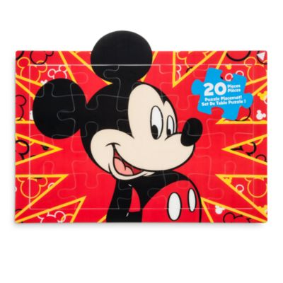 Set de table puzzle Mickey Mouse