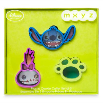 Stitch MXYZ Cookie Cutters, Set Of 3