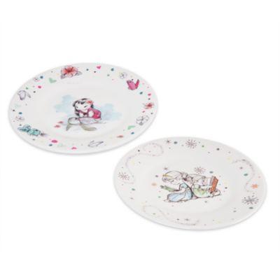 Set platos colección Disney Animators