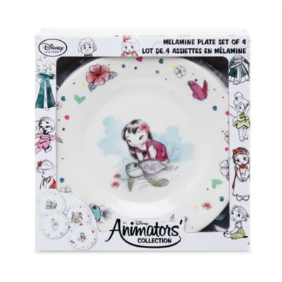 Disney Animators Collection - Set mit 4 Tellern