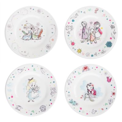 Disney Animators' Collection Plate Set