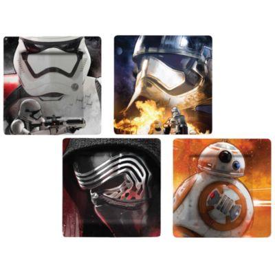 Juego de platos de melamina de Star Wars VII: El despertar de la fuerza