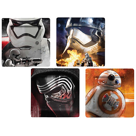 Ensemble d'assiettes en mélamine Star Wars : Le Réveil de la Force