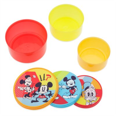 Mickey Mouse Summer Fun Stackable Food Container Set