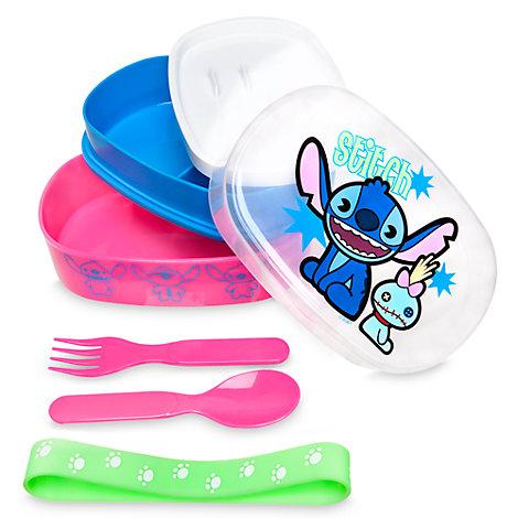 Stitch MXYZ matförvaringslåda med bestick