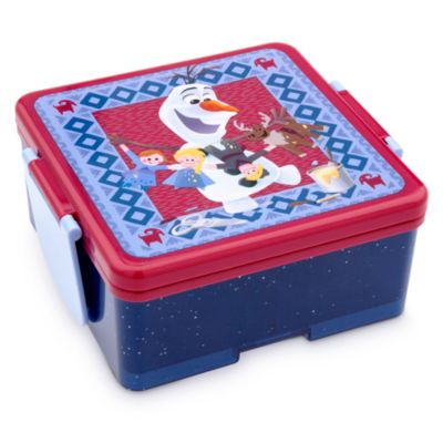 Porta alimentos apilable de Olaf, Frozen. Una aventura de Olaf
