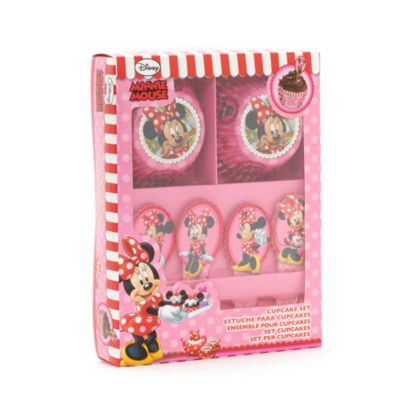 Set de moldes y adornos para pasteles Minnie