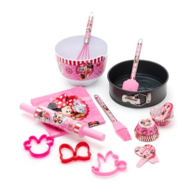Minnie Mouse Cupcake Case and Topper Set