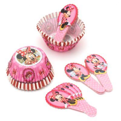 Ensemble de caissettes et décorations pour cupcakes Minnie Mouse