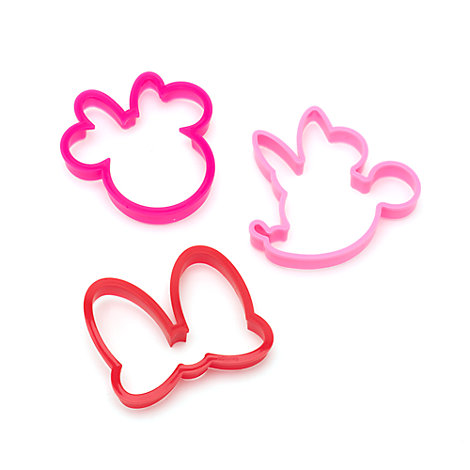 Minnie Mouse udstiksforme, sæt med 3 stk.