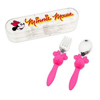 Juego de cubertería Minnie Mouse, Disney Store
