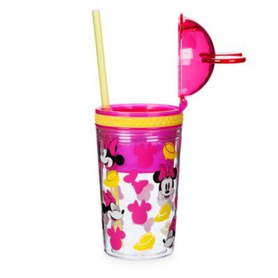 Minnie Maus - Getränkeflasche mit Snackdose