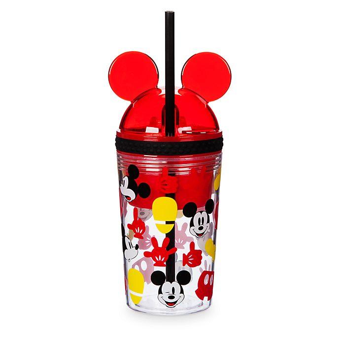 Micky Maus - Getränkeflasche mit Snackdose