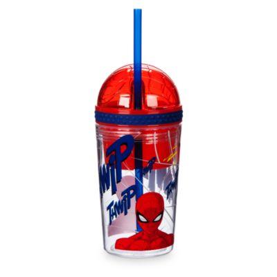 Spider-Man - Getränkeflasche mit Snackdose