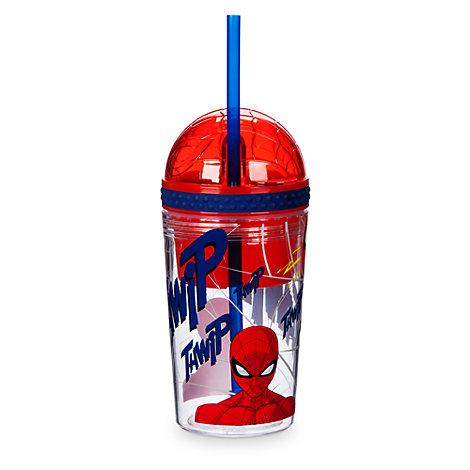 Taza bebida y tentempiés Spider-Man