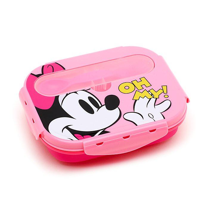 Juego fiambrera con cubiertos Minnie Mouse