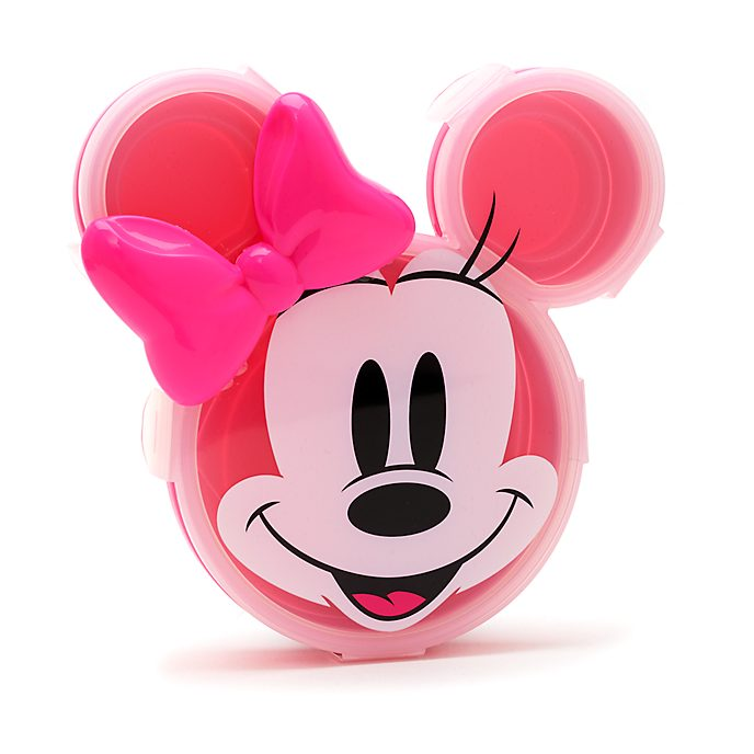 Disney Store Minnie Mouse Plate With Lid