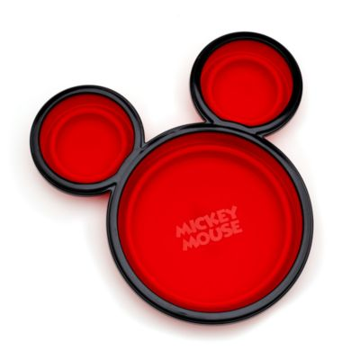 Mickey Mouse Plate with Lid